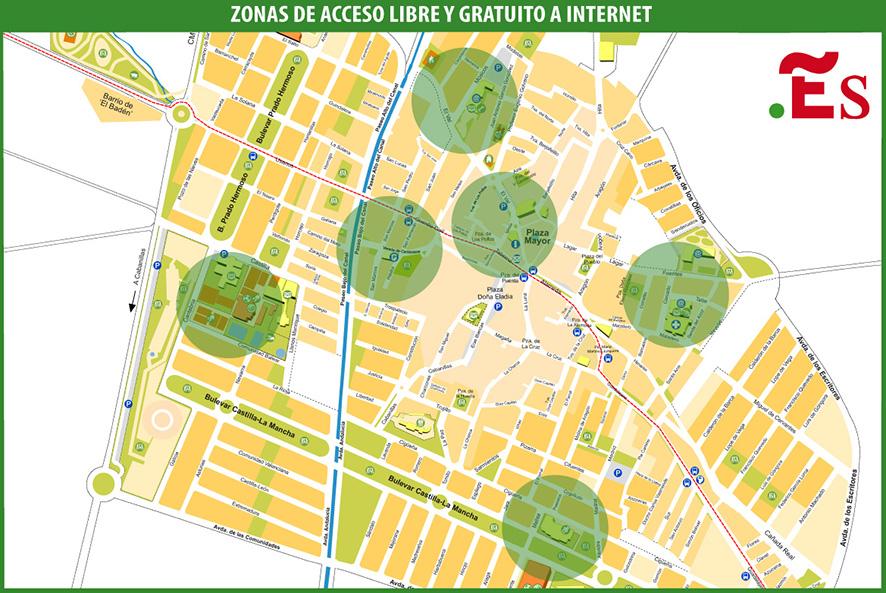 Mapa WiFi Marchamalo